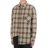 [쟈니웨스트] JHONNYWEST - CHK.Attack Shirts (Br.Beige) 긴팔 체크셔츠 남방