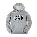 [GAP] 갭 기모 후드티셔츠 그레이 남녀공용 정품 국내배송