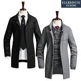 [해리슨] 멜톤원버튼 DB1099 코트