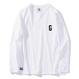 [그루브라임]GROOVERHYME 2017 G LOGO T-SHIRTS [GTS008F33WH] 긴팔티