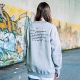 [FLUKE]플루크 밀리터리 시리얼 맨투맨티셔츠 FMT017C337GY 크루넥 스��셔츠