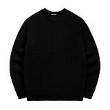 [아파트먼트]Primary Knit - Black 니트