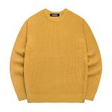 [아파트먼트]Primary Knit - Mustard 니트