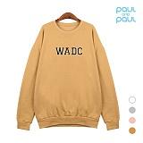폴앤폴 - WADC 오버핏 맨투맨 (남여공용) ACTU-6552