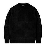 [언더에어] UNDERAIR Zero Effect Knit - Black 니트