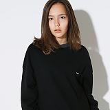 텐블레이드 - 남여공용 시그니처 패치 맨투맨_블랙