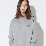 텐블레이드 - 남여공용 플래그 로고 맨투맨_그레이