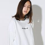 텐블레이드 - 남여공용 JP 블레이드 맨투맨_화이트