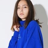 텐블레이드 - 남여공용 플래시 백 하프터틀넥_블루