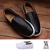 [에이벨류] 남성 베이직 와플 키높이 슬립온(블랙.화이트) 813-토르 남자 신발 단화 스니커즈 슈즈
