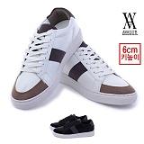 [에이벨류] 남성 럭스 포멀 캐쥬얼 슈즈(블랙.화이트) 828-행온 남자 신발 스니커즈 단화 가을