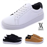 [에이벨류] 남성 모던 레더 스니커즈 (블랙.베이지.화이트) 831-쿠팍 남자 신발 단화 슈즈 스니커즈 가을