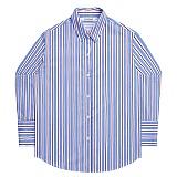 [아파트먼트]Cherry Bomb Shirts - Blue 긴팔셔츠 남방