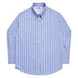 [아파트먼트]Half Valley Shirts - Blue 긴팔셔츠 남방