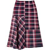 [아파트먼트]Cross-Fade Skirt Red 스커트 치마