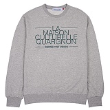 [센스스튜디오] LA MAISON MTM (MELANGE) 맨투맨 크루넥 스웨트셔츠