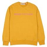 [센스스튜디오] SENSE EQUAL MTM (GOLD YELLOW) 맨투맨 크루넥 스웨트셔츠