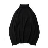 파르티멘토 - APS Pola Neck Knit Black 폴라넥 니트