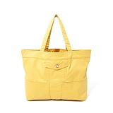 파르티멘토 - Coating Trucker Bag Yellow 트러커백 토트 숄더