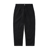 파르티멘토 - Desert Cotton Pants Black 팬츠