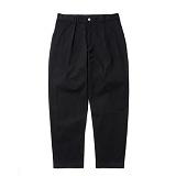 파르티멘토 - Cotton Painter Pants Black 페인터팬츠