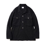 파르티멘토 - Desert Cotton Jacket Black 자켓