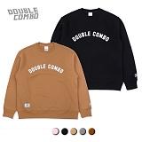 [더블콤보] DOUBLE COMBO ARCH LOGO MTM (5color) 기모 맨투맨 크루넥 스웨트셔츠