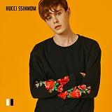 [루찌씬놈]Rucci Ssinnom - 맨투맨 SNM107 (2color) 장미 자수 스��셔츠
