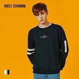 [루찌씬놈]Rucci Ssinnom - 맨투맨 SNM110 (2color) 자수 스��셔츠