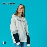 [루찌씬놈]Rucci Ssinnom - 맨투맨 SNM116 (2color) 자수 스��셔츠