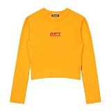 [아파트먼트]APT Seoul Crop T Vol.2 - Mustard 크롭티 긴팔티
