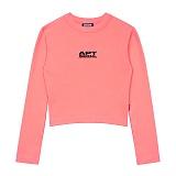 [아파트먼트]APT Seoul Crop T Vol.2 - Pink 크롭티 긴팔티