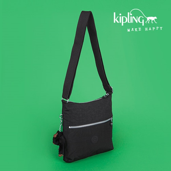 [키플링]KIPLING - ZAMOR Small shoulderbag Black 숄더백