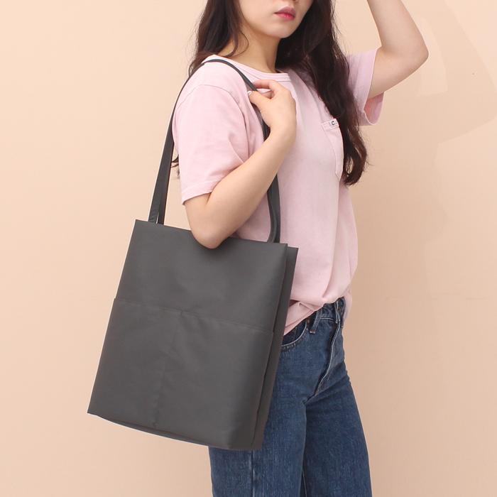 [루버킨] Fanning Shoulder bag - GRAY 숄더백 여성백