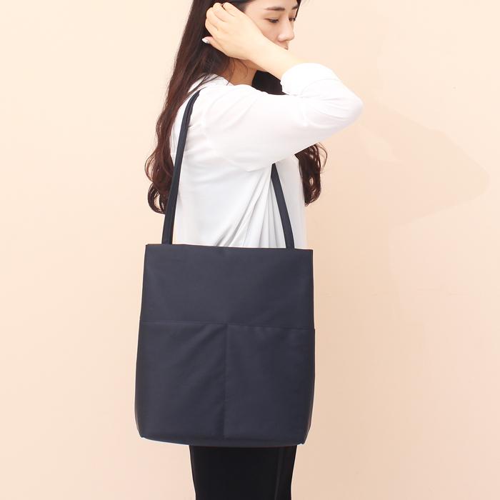 [루버킨] Fanning Shoulder bag - NAVY 숄더백 여성백