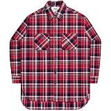 [언더에어] UNDERAIR Santa Maria Shirts - Red 긴팔 체크셔츠 남방
