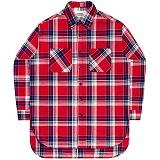 [언더에어] UNDERAIR Soul Work Shirts - Red 긴팔 체크셔츠 남방