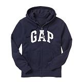 GAP 갭 기모 후드집업 218871 56W 네이비(화이트로고) 남녀공용 정품 국내배송