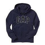 GAP 갭 기모 후드집업 218871 56B 네이비(블랙로고) 남녀공용 정품 국내배송