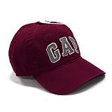GAP 갭 로고 모자 볼캡 835040 00 버건디 야구모자 남녀공용 정품 국내배송
