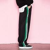 [모티브]MOTIVE - SIDELINE TRACK PANTS GREEN 라인 트레이이닝팬츠 긴바지