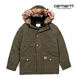 [칼하트WIP] CARHARTT WIP - Trapper Parka (Cypress / Black) 트래퍼 파카 패딩 점퍼