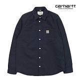 [칼하트WIP] CARHARTT WIP - L/S Tony Shirt (Dark Navy) 펜슬포켓 토니셔츠 긴팔남방