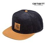 [칼하트WIP] CARHARTT WIP - Gibson Cap (Dark Navy / Hamilton Brown) 깁슨 코듀로이 골덴 스냅백 모자