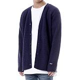 [쟈니웨스트] JHONNYWEST - [Lambs Wool] Critical Cardigan (NVY) 가디건 카디건