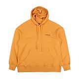 [아이넨]EINEN-ALC Dropshoulder Hoodie Sweatshirts Mustard 후드티