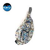 KAVU - Rope Bag Midnight Floral 로프백 슬링백
