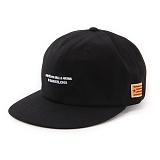 앱놀머씽 - Barcelona 6panel Cap (Black) 6패널캡
