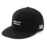 앱놀머씽 - Lombard 6panel Cap (Black) 6패널캡
