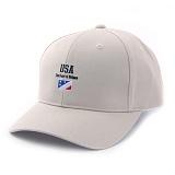앱놀머씽 - USA Ball Cap (Beige) 볼캡 야구모자